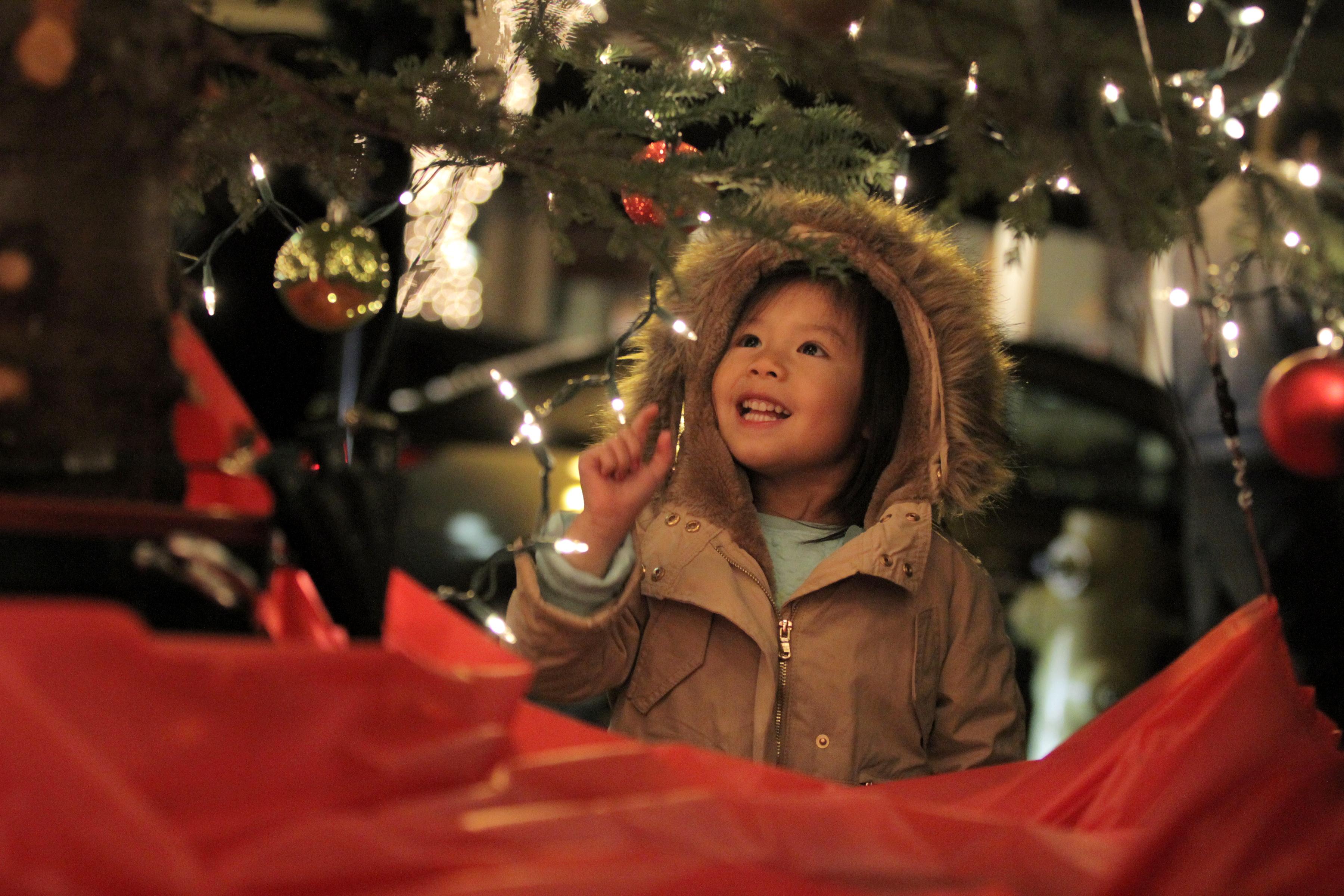 Los Altos Holiday tree lighting