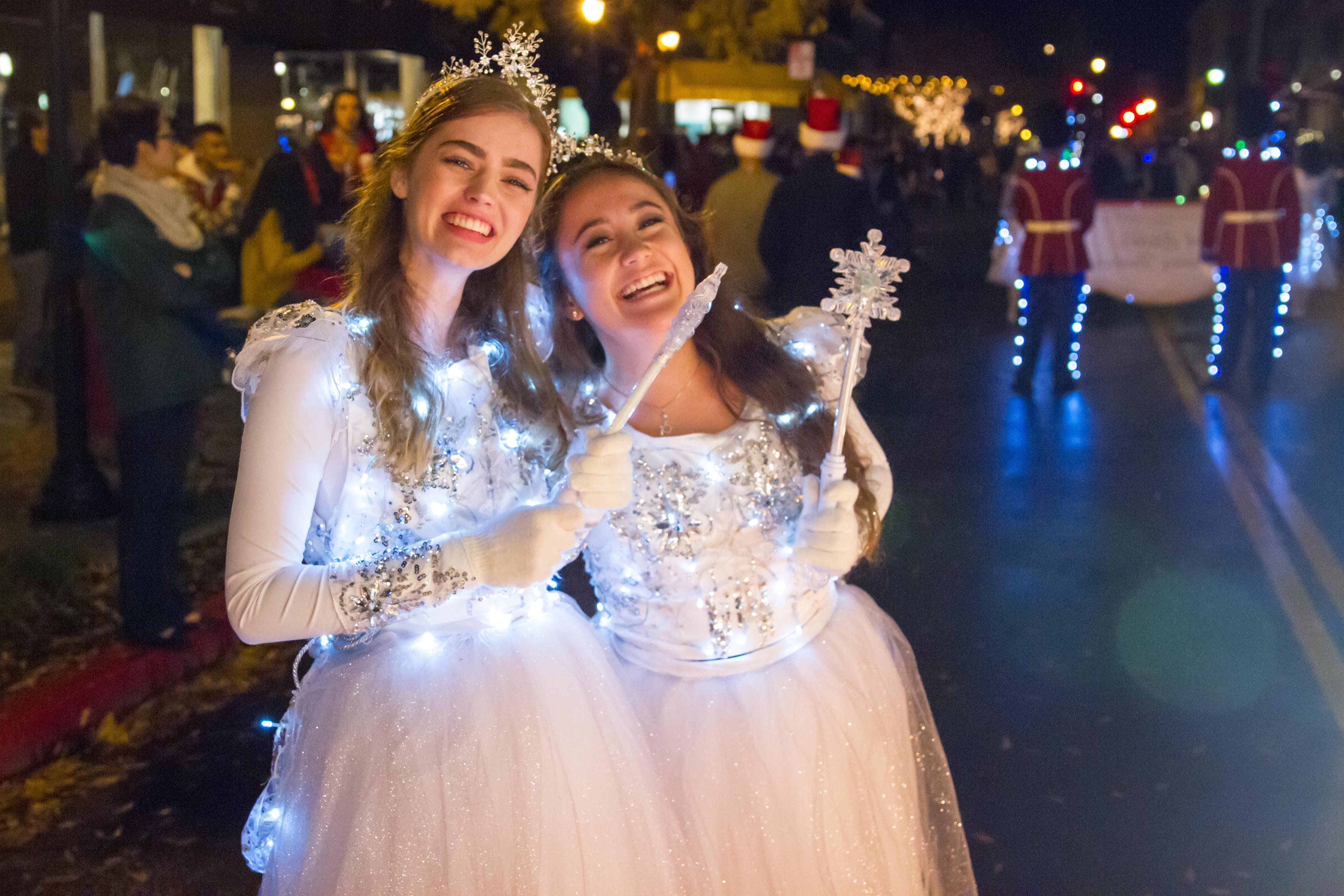 Los Altos Festival of Lights Parade