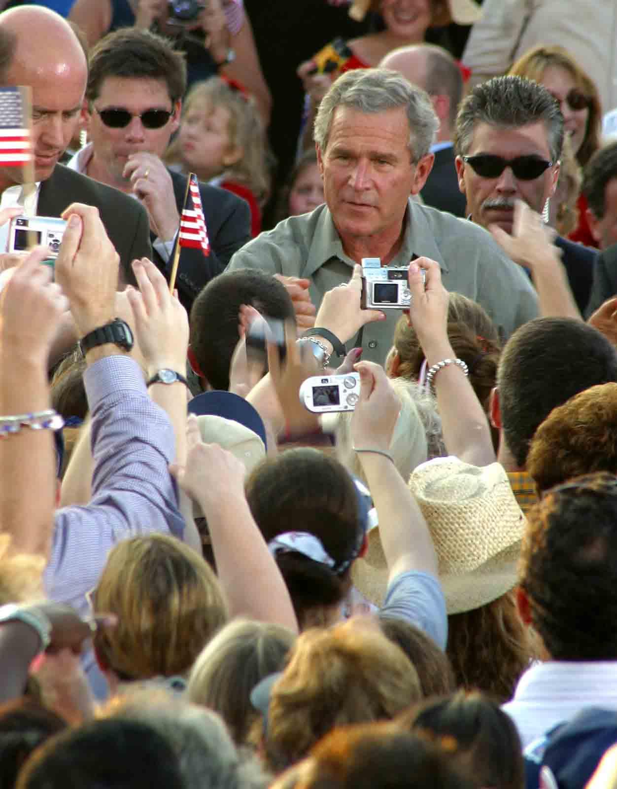 Gainesville greets President Bush
