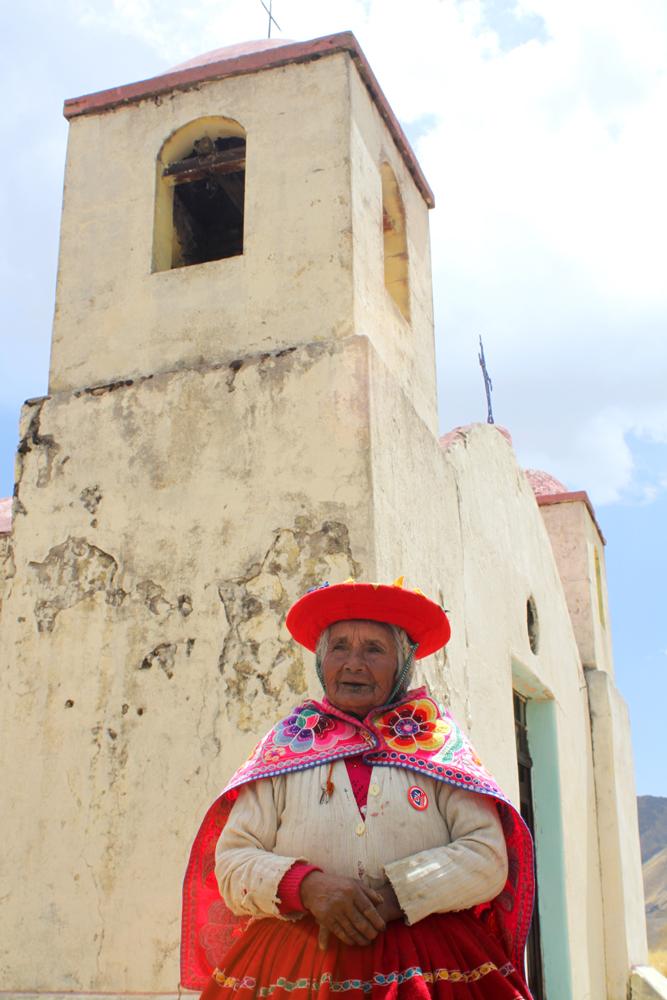 En route to Puno